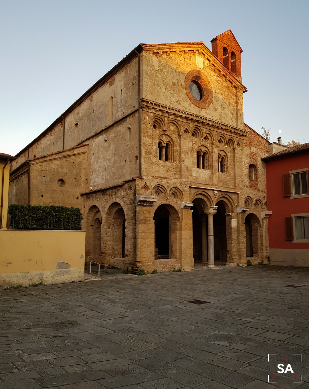 iglesia medieval Italia