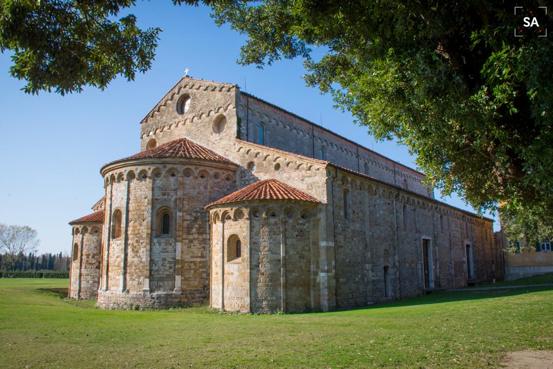 románico iglesia arte Pisa