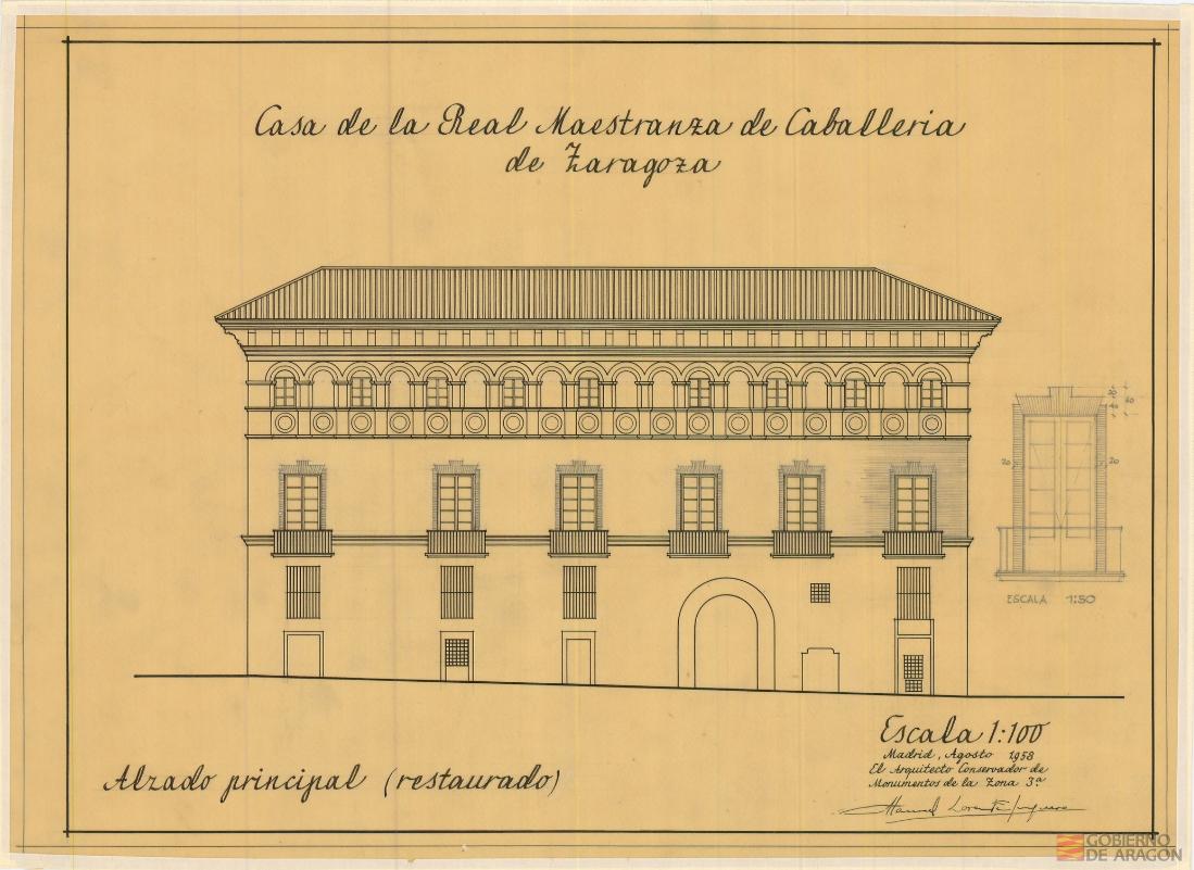 aragón maestranza arquitectura
