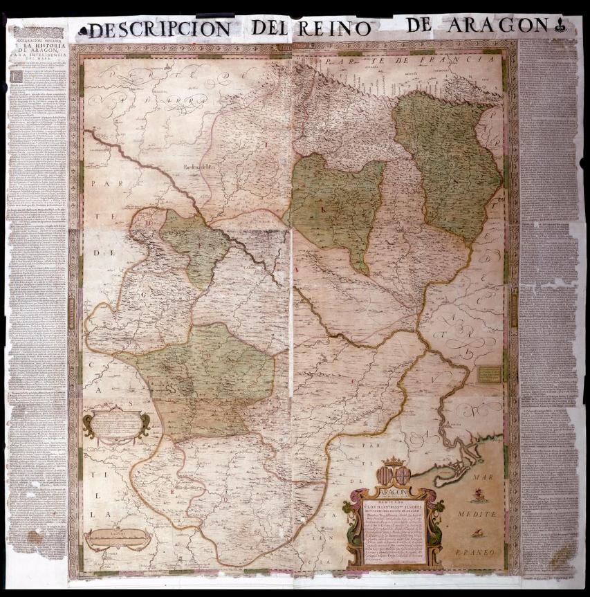 mapa aragón historia