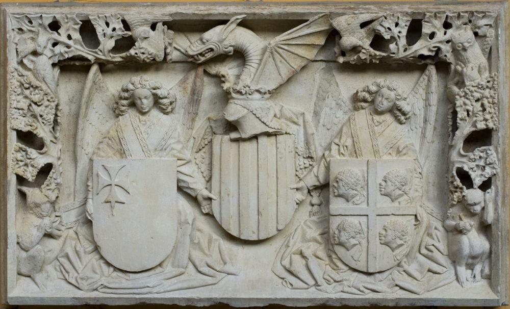 escultura historia españa heráldica