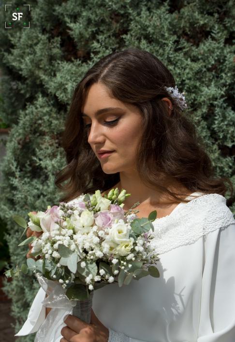 novia vestido modelo